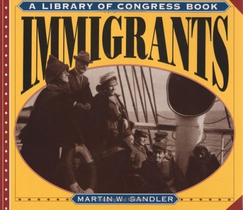 Immigrants  N/A 9780060245078 Front Cover