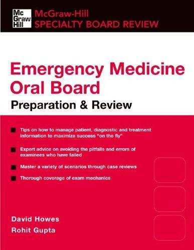 Emergency Medicine Oral Boards   2010 edition cover