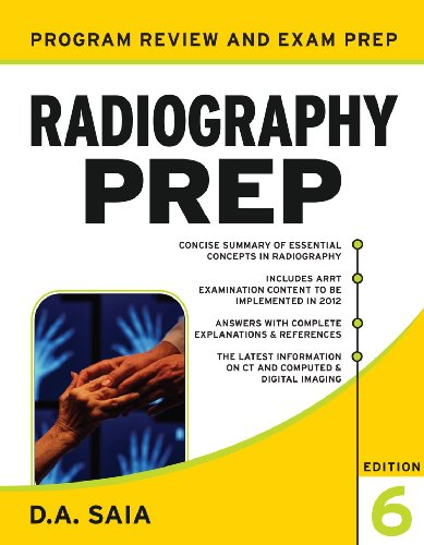 Radiography PREP (Program Review and Examination Preparation)  6th 2011 9780071739078 Front Cover