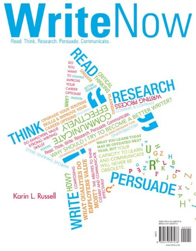 Write Now   2012 edition cover