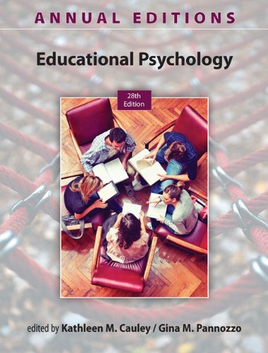 Educational Psychology 13/14:  28th 2013 edition cover