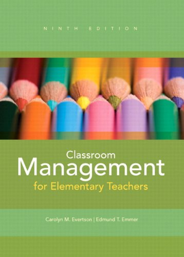 Classroom Management for Elementary Teachers  9th 2013 edition cover