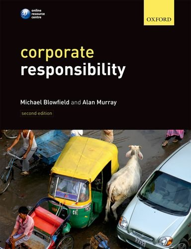 Corporate Responsibility  2nd 2011 edition cover