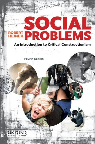 Social Problems An Introduction to Critical Constructionism 4th 2013 edition cover