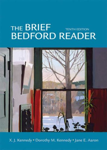Bedford Reader 2009  10th 2011 edition cover