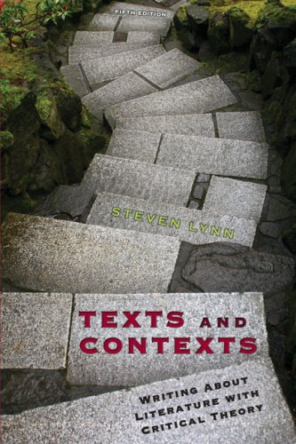 Texts and Contexts Writing about Literature with Critical Theory 5th 2008 edition cover