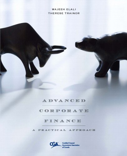 ADVANCED CORPORATE FINANCE N/A edition cover