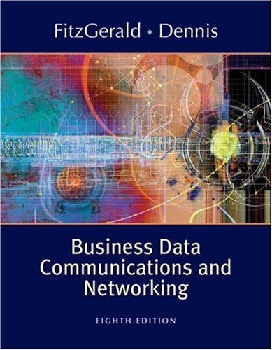Business Data Communications and Networking  8th 2005 (Revised) edition cover