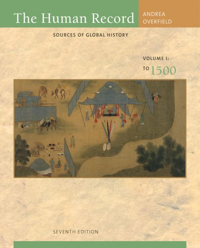 Human Record Sources of Global History to 1500 7th 2012 edition cover