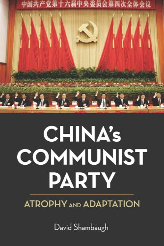 China's Communist Party Atrophy and Adaptation  2009 edition cover