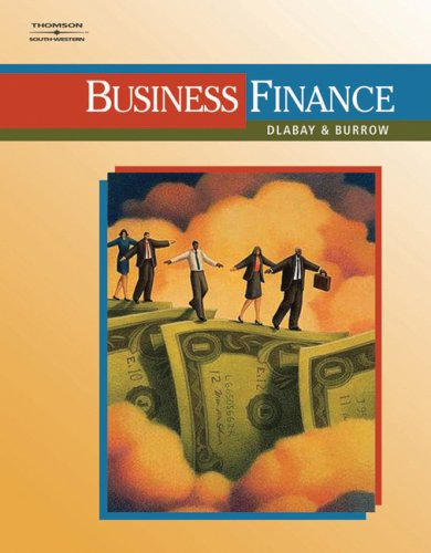 Business Finance   2008 9780538445078 Front Cover