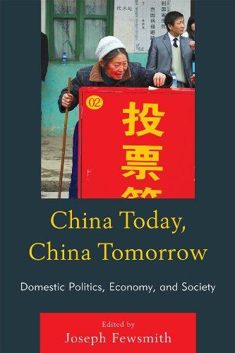 China Today, China Tomorrow Domestic Politics, Economy, and Society  2010 edition cover