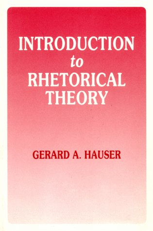 Introduction to Rhetorical Theory 1st (Reprint) edition cover
