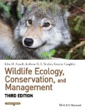 Wildlife Ecology, Conservation, and Management  3rd 2013 edition cover