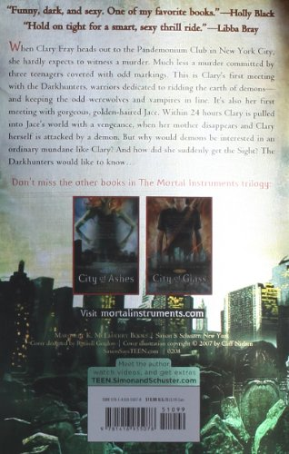 City of Bones  N/A edition cover