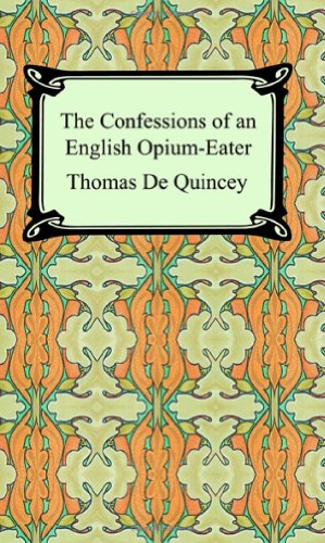 Confessions of an English Opium-Eater 1st edition cover