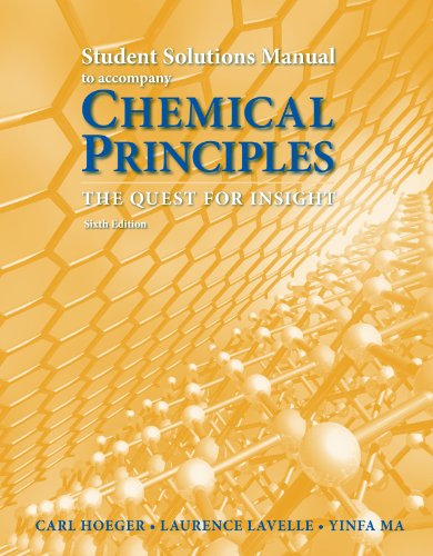CHEMICAL PRINCIPLES-STUD.STD.G N/A 9781464107078 Front Cover