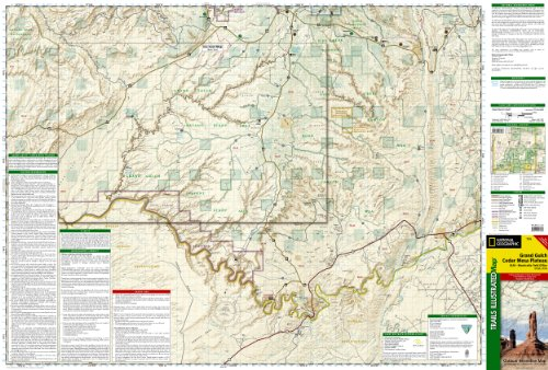 Grand Gulch Plateau Topographic Map BLM - San Jose Resource Area, Utah, USA 2011st 2011 edition cover