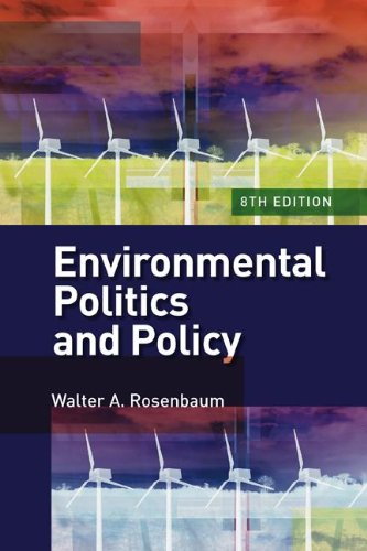 Environmental Politics and Policy  8th 2009 (Revised) edition cover