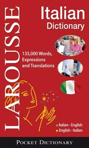 Larousse Pocket Dictionary : Italian-English / English-Italian   2009 edition cover