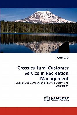 Cross-Cultural Customer Service in Recreation Management N/A 9783843359078 Front Cover