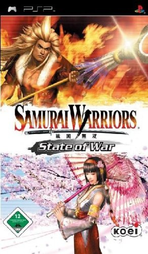 Samurai Warriors - State of War Sony PSP artwork