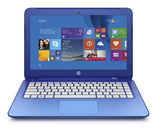 (Discontinued) HP Stream 13.3 Inch Laptop (Intel Celeron, 2 GB, 32 GB SSD, Horizon Blue) Includes Office 365 Personal for One Year product image
