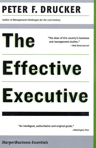 Effective Executive  2002 edition cover