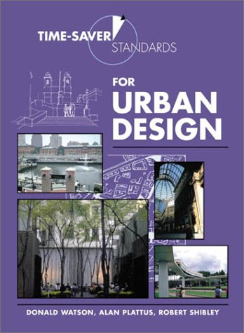 Time-Saver Standards for Urban Design   2003 edition cover