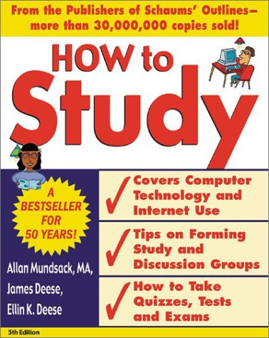How to Study  5th 2003 (Revised) edition cover