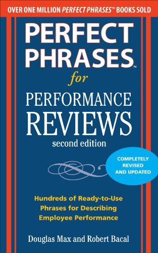Performance Reviews  2nd 2011 edition cover