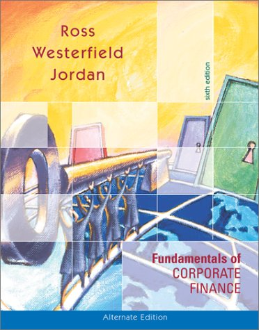 Fundamentals of Corporate Finance With Powerweb and Standard and Poor's Educational Version of Market Insight 6th 2003 edition cover