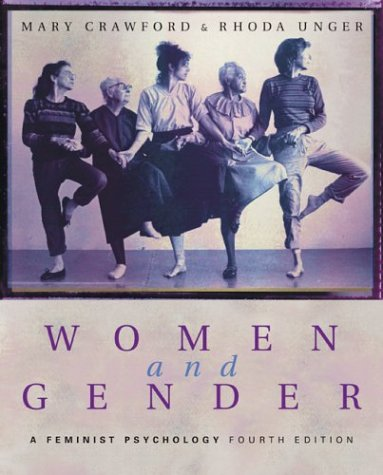 Women and Gender A Feminist Psychology 4th 2004 (Revised) edition cover