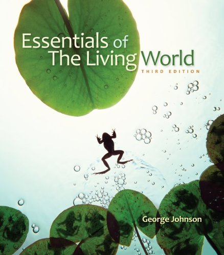 Essentials of the Living World  3rd 2010 edition cover