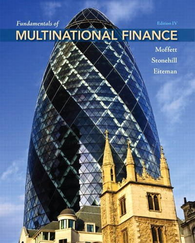 Fundamentals of Multinational Finance  4th 2012 (Revised) edition cover