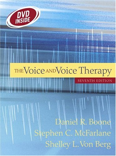 Voice and Voice Therapy (with Free DVD)  7th 2005 (Revised) 9780205414079 Front Cover