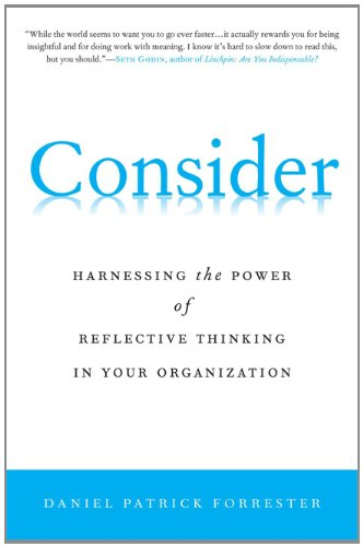 Consider Harnessing the Power of Reflective Thinking in Your Organization  2011 9780230106079 Front Cover