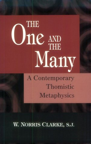 One and the Many A Contemporary Thomistric Metaphysics  2001 edition cover
