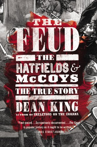 Feud The Hatfields and Mccoys: the True Story  2014 edition cover