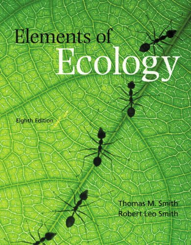 Elements of Ecology  8th 2012 (Revised) edition cover