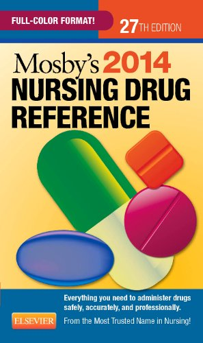 Mosby's 2014 Nursing Drug Reference  27th edition cover