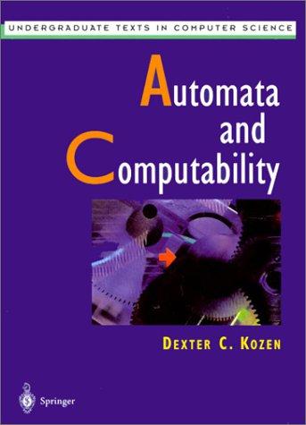 Automata and Computability   1997 edition cover