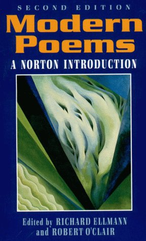 Modern Poems An Introduction to Poetry 2nd 9780393959079 Front Cover
