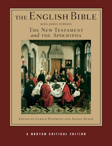English Bible The New Testament and the Apocrypha  2011 edition cover