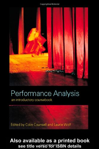 Performance Analysis An Introductory Coursebook  2001 edition cover