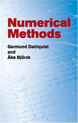 Numerical Methods   2003 edition cover