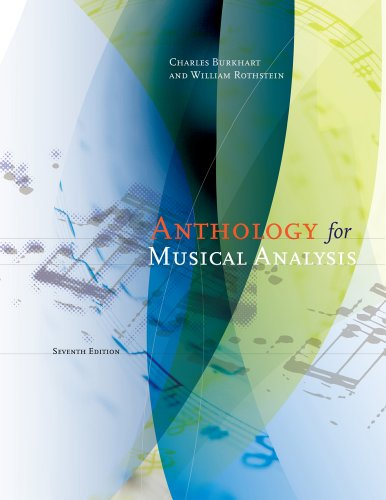 Anthology for Musical Analysis  7th 2012 edition cover