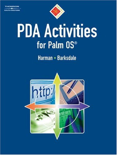PDA Activities for Palm OS   2007 9780538729079 Front Cover