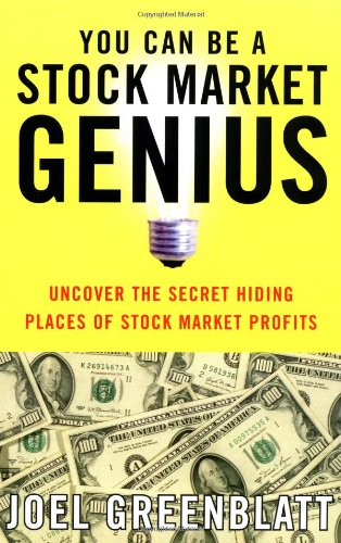 You Can Be a Stock Market Genius Uncover the Secret Hiding Places of Stock Market Profits  1999 edition cover