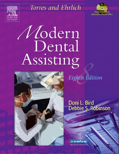 Modern Dental Assisting  8th 2005 (Revised) edition cover